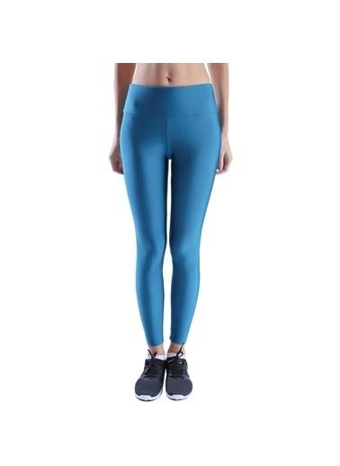 Sportive Sportive 710475TGR Shinetight Kadın Parlak Tayt Mavi